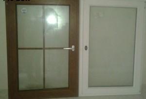 PVC ali lesena okna?